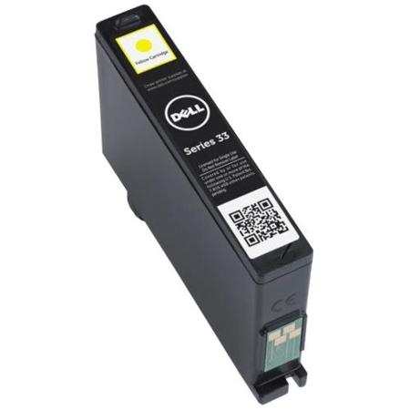 Dell 331-7380 (series 33) Original Yellow Extra High Capacity Single Use Ink Cartridge (GRW63)