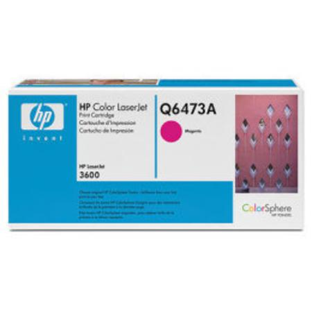 HP Color LaserJet Q6473A Magenta Original Print Cartridge with HP ColorSphere Toner