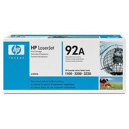 HP LaserJet 92A (C4092A) Black Original Standard Capacity Print Cartridge with Ultraprecise Technology