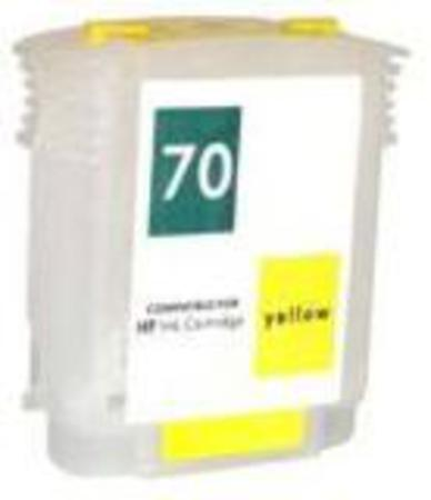 HP 70 Remanufactured Yellow Ink Cartridge (C9454A)
