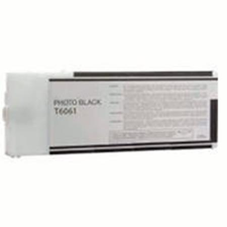 Epson T6061 Remanufactured Photo Black Ink Cartridge
