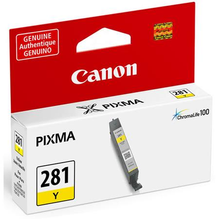 Canon CLI-281Y Yellow Original Standard Capacity Ink Cartridge