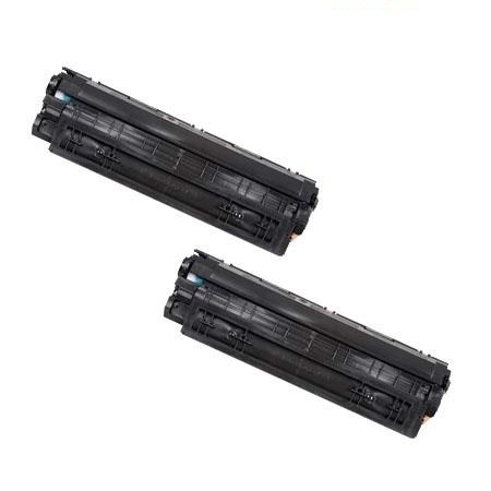 Compatible Twin Pack Black Canon 137 Toner Cartridges