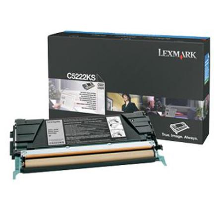 Lexmark C5222KS Original Black Toner Cartridge