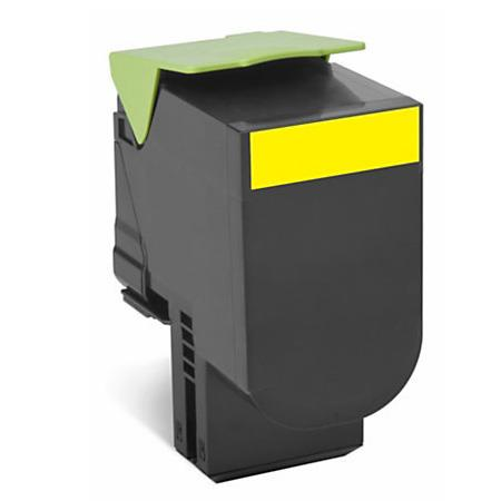 Lexmark C540H1YG Yellow Remanufactured High Capacity Laser Toner Cartridge