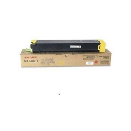 Sharp MXC40NTY Yellow Original Toner Cartridge