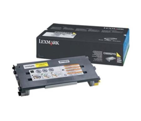 Lexmark C500 Original Yellow Toner Cartridge
