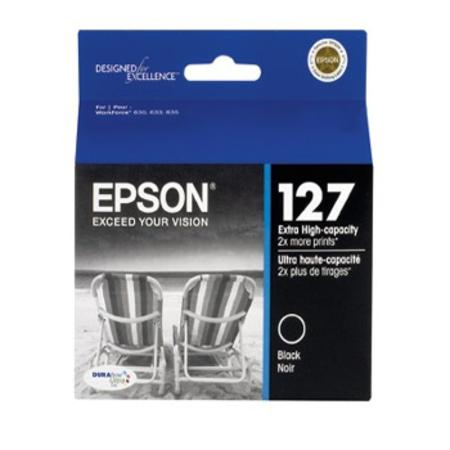 Epson 127 Black Original Extra High-capacity Ink cartridge