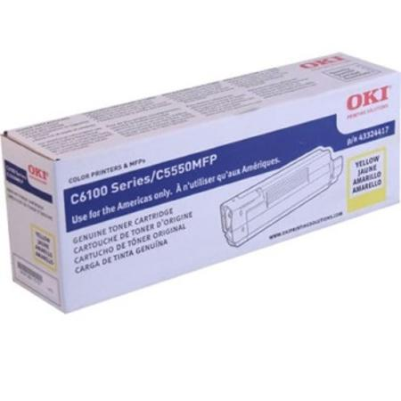 OKI 43324417 Yellow Original Toner Cartridge