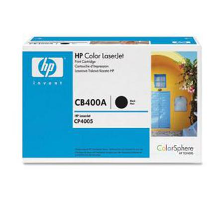 HP Color LaserJet CB400A Original Black Toner Cartridge