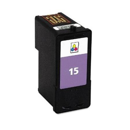 Lexmark No.15 (18C2110) Remanufactured Color Ink Cartridge