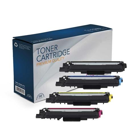 Brother TN223BK/C/M/Y Full Set Remanufactured Standard Capacity Toner Cartridges