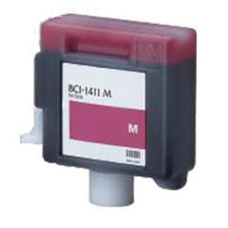 Compatible Magenta Canon BCI-1411M Ink Cartridge (Replaces Canon 7576A001AA)