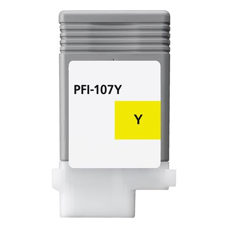 Compatible Yellow Canon PFI-107Y Ink Cartridge (Replaces Canon 6708B001AA)