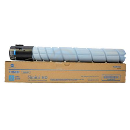 Konica Minolta TN512 Cyan Original Toner Cartridge (A33K432)