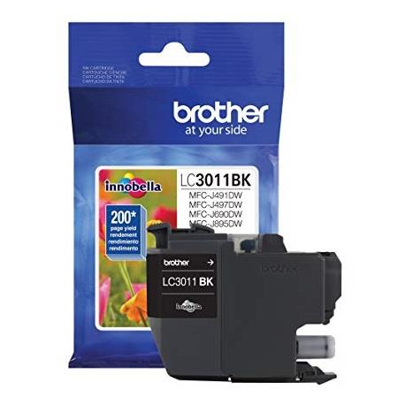 Brother LC3011BK Black Original Standard Capacity Ink Cartridge