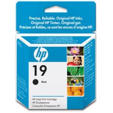HP 19 Black Original Inkjet Print Cartridge (C6628AN)