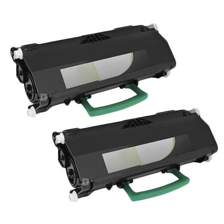 Clickinks 407024 Black Remanufactured Toner Cartridge Twin Pack
