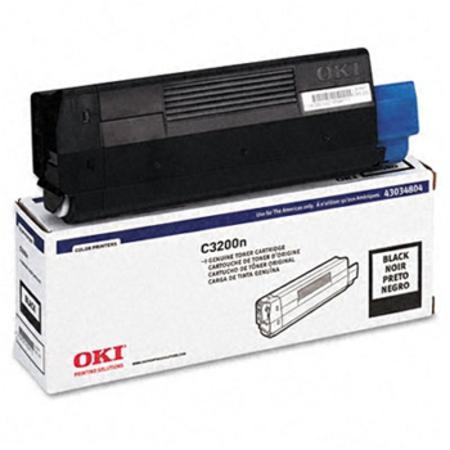 OKI 43034804 Black Original Toner Cartridge