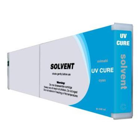 Compatible Cyan Mimaki UVC Cure Ink Cartridge