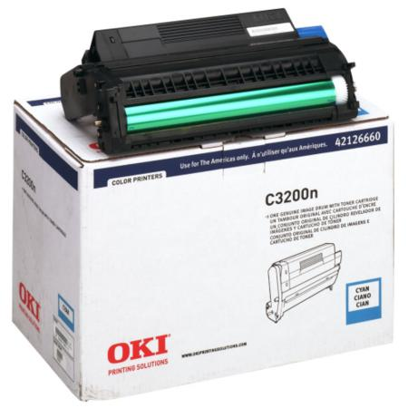 OKI 42126660 Cyan Original High Capacity Drum Unit