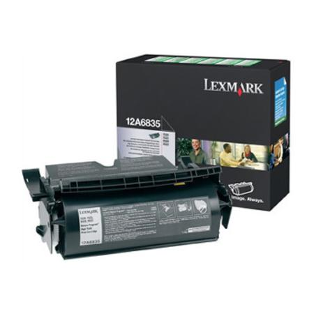 Lexmark 12A6835 Original Black Toner Cartridge