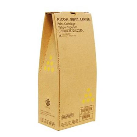 Ricoh 841291 Original Yellow Toner Cartridge