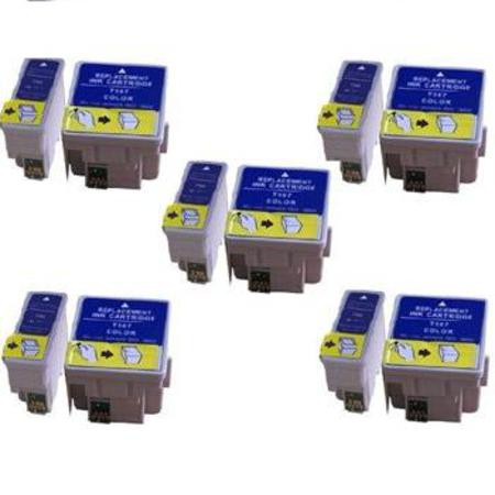Clickinks T066/T067 5 Full Sets Remanufactured Inks