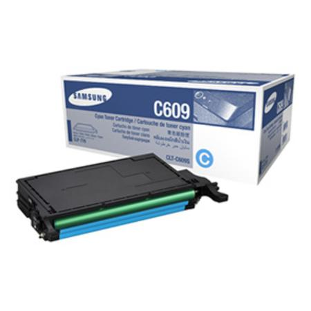 Samsung CLT-C609S Cyan Original High Yield Toner Cartridge