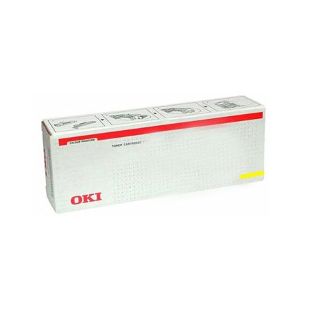 OKI 45536513 Yellow Original Toner Cartridge