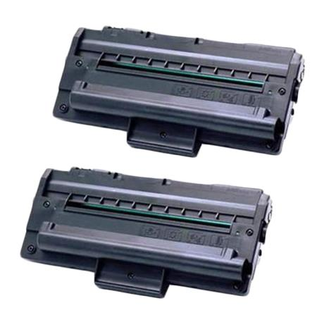 Compatible Twin Pack Black Samsung ML-1710D3 Toner Cartridges