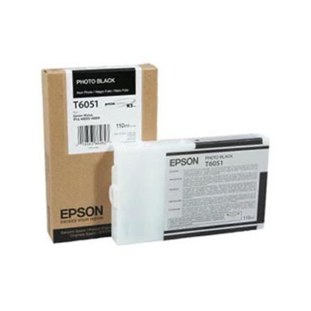 Epson T6051 (T605100) Original Photo Black Ink Cartridge