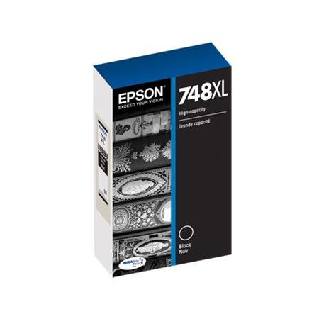 Epson 748XL (T748XL120) Black Original High Capacity Ink Cartridge