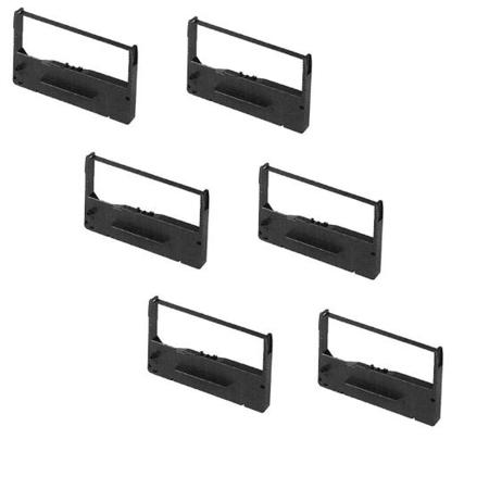 Epson ERC-11 Compatible Black Printer Ribbon (6 Pack)