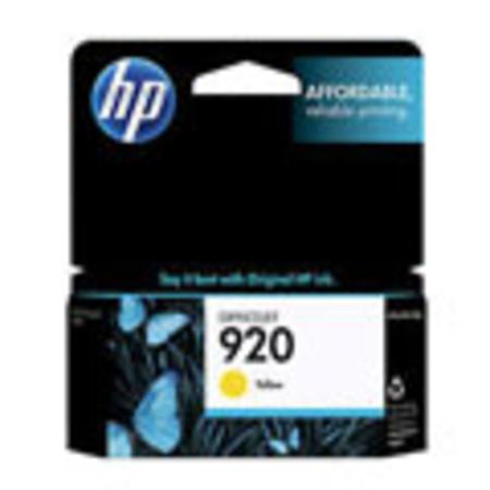 HP 920 Original Yellow Officejet Ink Cartridge
