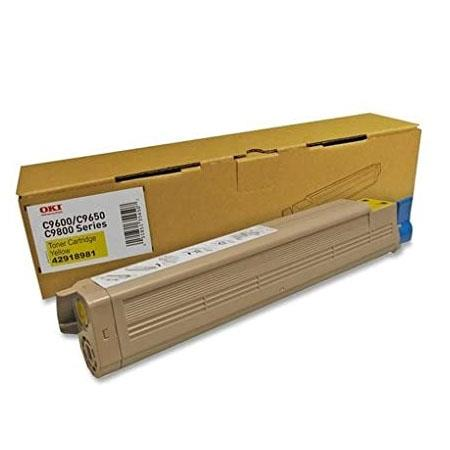 OKI 42918981 Yellow Original Toner Cartridge