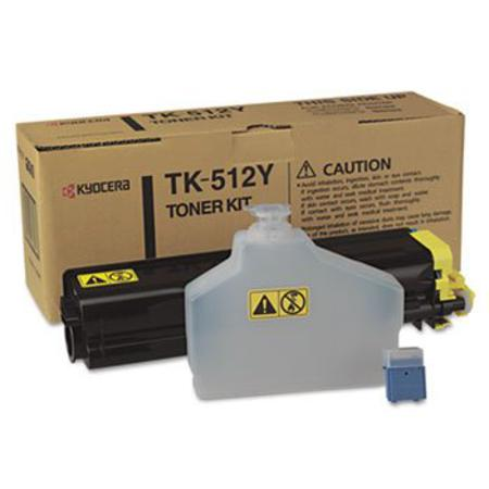 Kyocera TK-512Y Original Yellow Laser Toner Cartridge