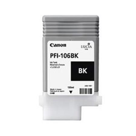 Canon PFI-106BK (6621B001AA) Black Original Ink Cartridge