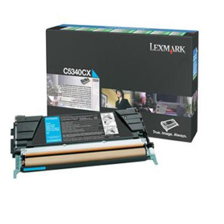 Lexmark C5340CX Original Cyan Extra High Yield Laser Toner Cartridge