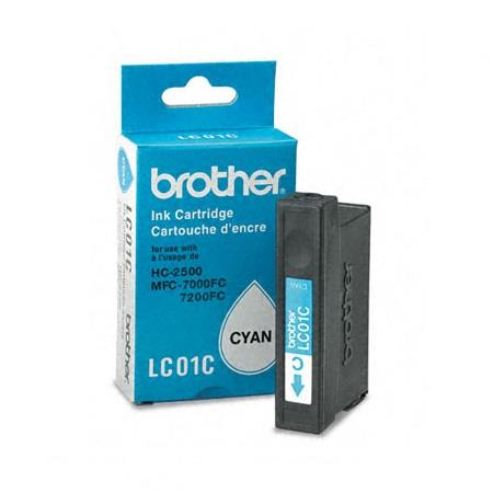 Brother LC01C Cyan Original Print Cartridge