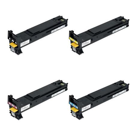 Compatible Multipack Minolta A06V133/233/333/433 Full Set Toner Cartridges