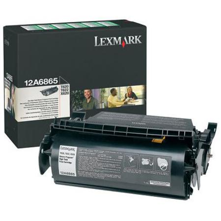 Lexmark 12A6865 Original Black Toner Cartridge