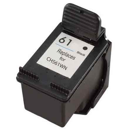 HP 61 Black Remanufactured Ink Cartridge
