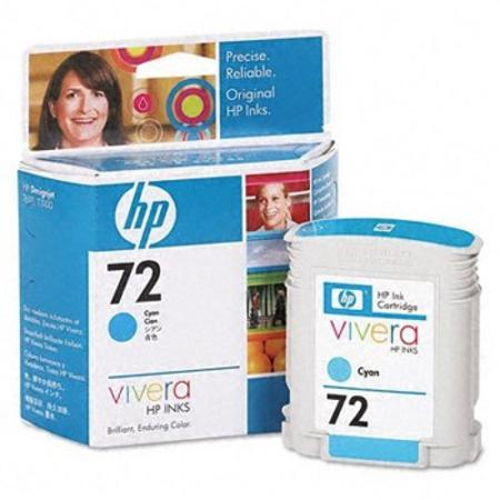 HP 72 (C9398A) Original Cyan Ink Cartridge