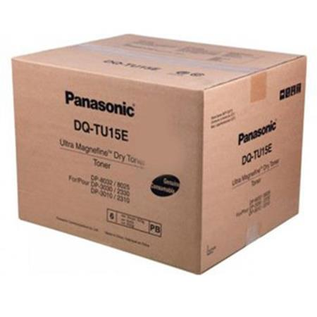 Panasonic DQTU15E Black Original Toner Cartridge