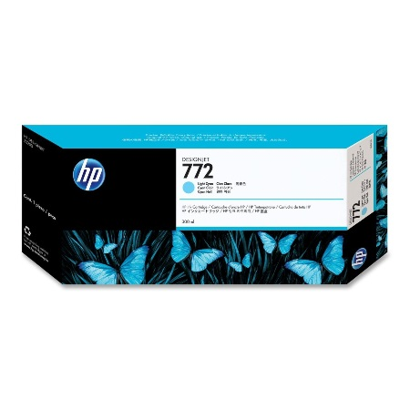 HP 772 Light Cyan Original Ink Cartridge (CN632A)
