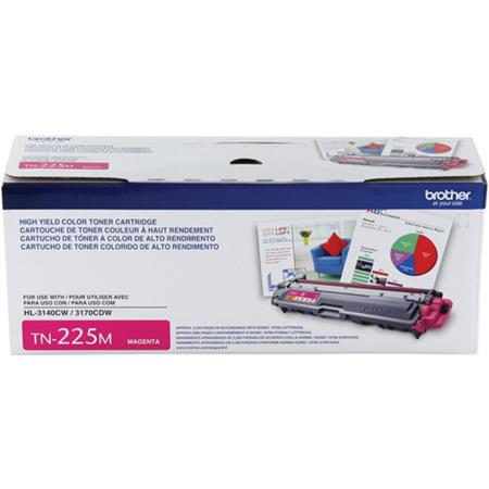 Brother TN225M Magenta Original High Capacity Toner Cartridge