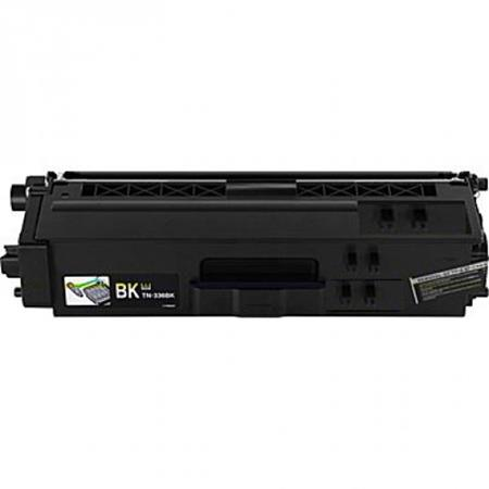 Brother TN336BK Black Remanufactured High Capacity Toner Cartridge
