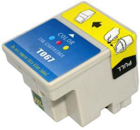 Epson T067 (T067020) Color Remanufactured Ink Cartridge