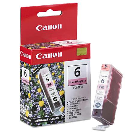 Canon BCI-6PM Photo Magenta Original Cartridge